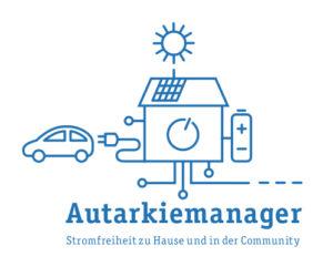 Logo des Autarkiemanagers - Stromfreiheit zu Hause und in der Community