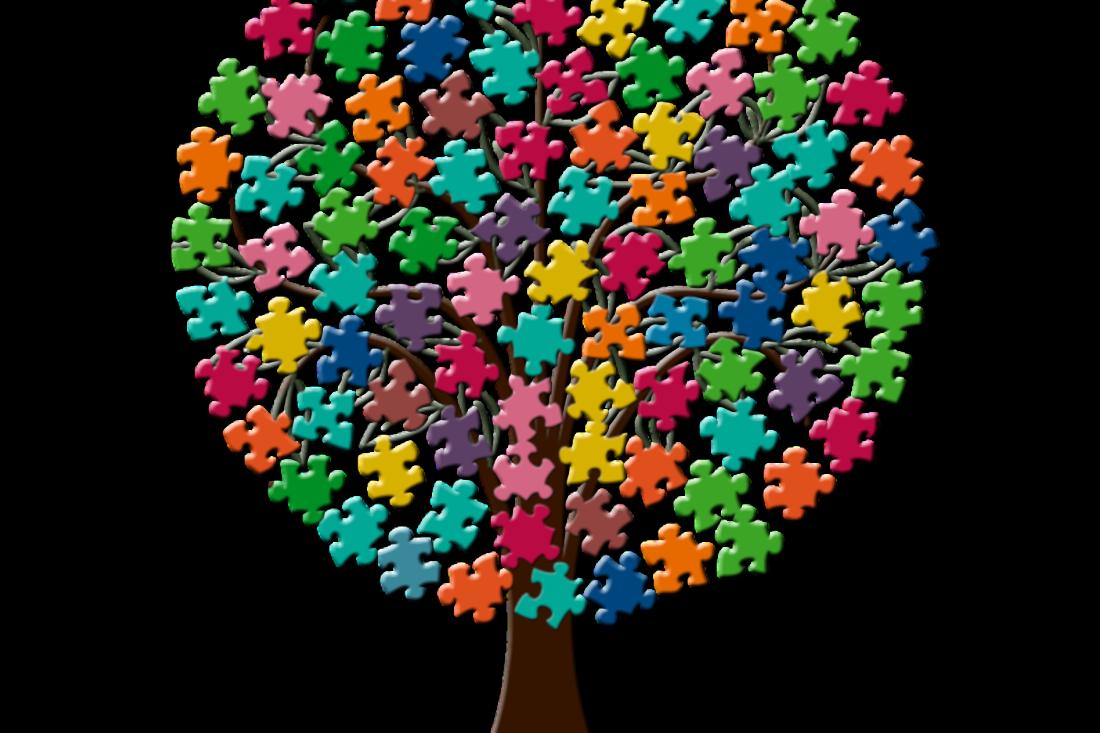 Ein Puzzle mit 10.000 Teilen