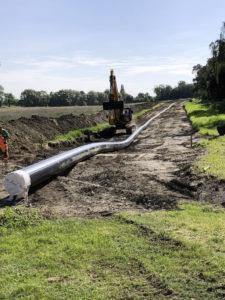 Vorgestreckte Wasserleitung der Halberstadtwerke, 7. Bauabschnitt