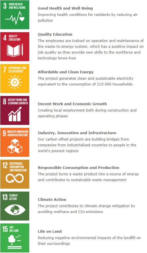 Beitrag zu den Sustainability Goals: Good Health and Well-Being, Quality Education, Affordable and Clean Energy, Decent Work and Economic Growth, Industry, Innovation and Infrastructure, Responsible Consumption and Production, Climate Action, Life on Land