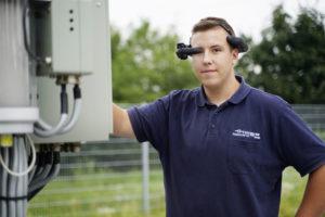 Augmented Reality: Datenbrille im Einsatz bei der Thüga Energienetze