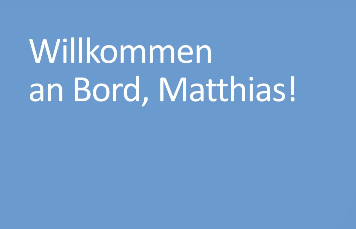 Matthias Stoller verstärkt Geschäftsführung