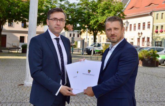 SmartService errichtet für Stadt Calbe (Saale) den drahtlosen Zugang in die digitale Welt