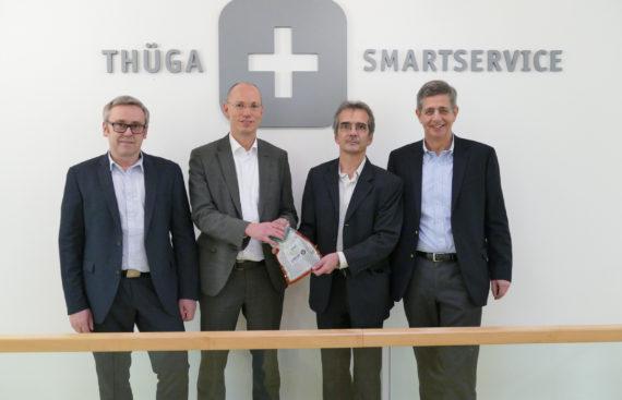 Thüga SmartService und EMH metering bieten praktikables Rundum-sorglos-Paket für den sicheren Rollout