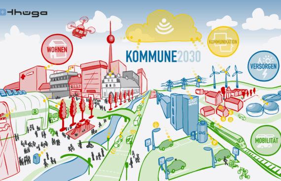 Kommune 2030: Diese Aufgaben haben Städte in der Zukunft